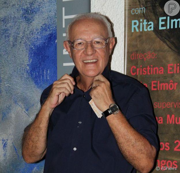 O ator Ney Latorraca teve alta da Casa de Saúde São José, onde ficou 47 dias internado, em 11 de dezembro de 2012