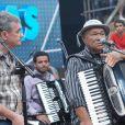 Dominguinhos no programa 'Altas Horas', apresentado por Serginho Groismann, em novembro de 2012