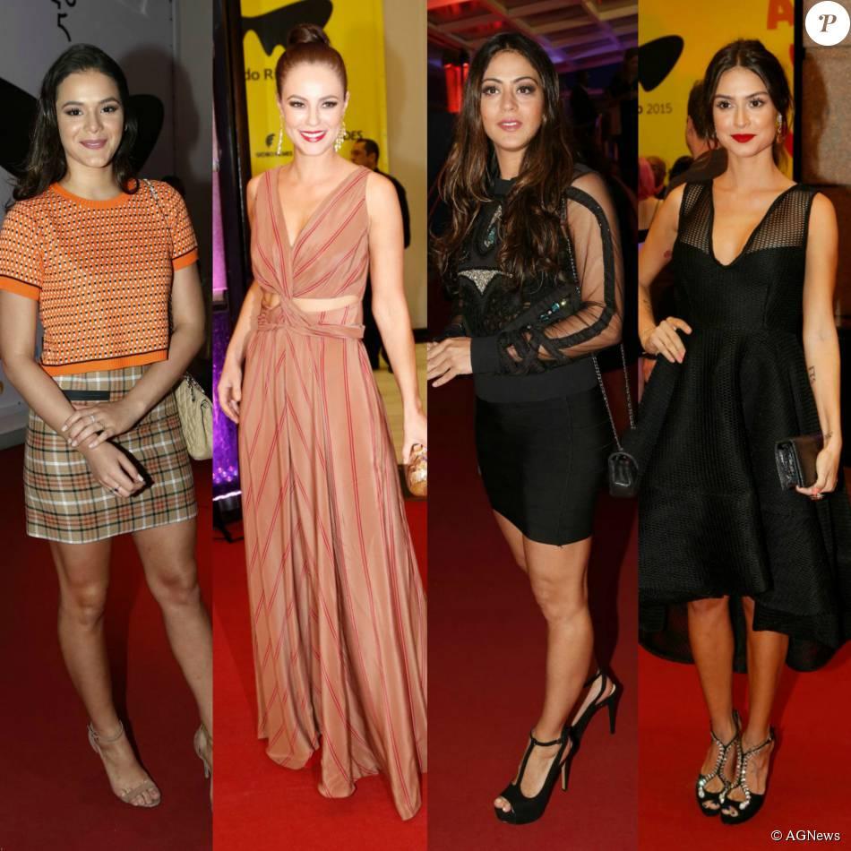 25f71afe7 Confira os looks das famosas no tapete vermelho do Festival do Rio 2015!