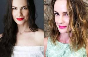 Carolina Kasting corta e clareia cabelo para 2ª fase de 'Além do Tempo': 'Lindo'