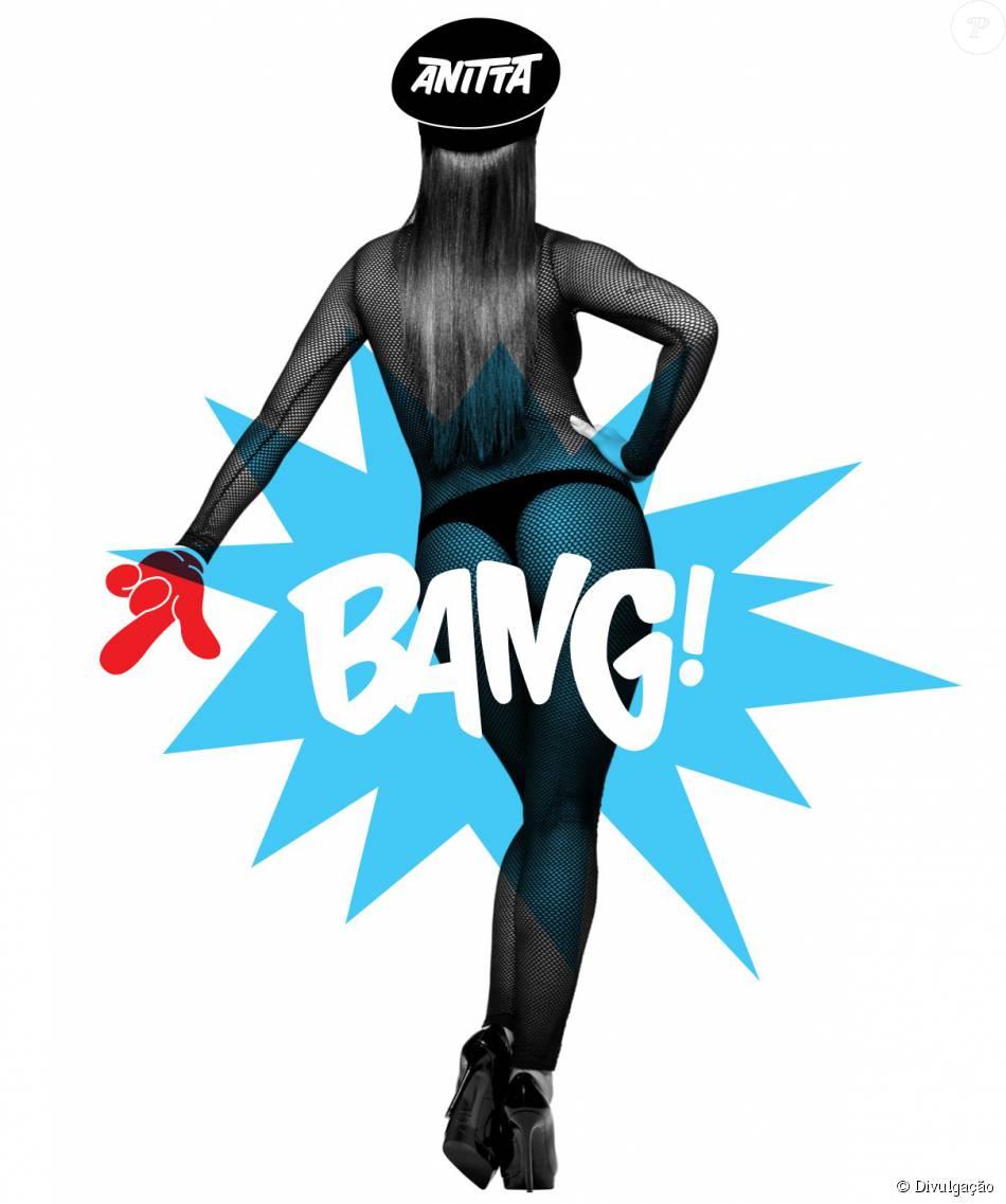 Anitta surge de fio-dental na capa de sua nova música, 'Bang'. 'Clipe essa semana', prometeu a cantora neste domingo, 4 de outubro de 2015