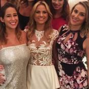 Luiza Valdetaro celebra casamento mais uma vez com festa no Copacabana Palace