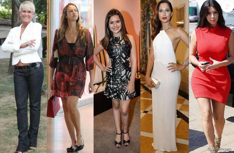 Xuxa Meneghel, Luana Piovani, Maisa Silva, Camila Pitanga e Kim Kardashian causam nas redes sociais