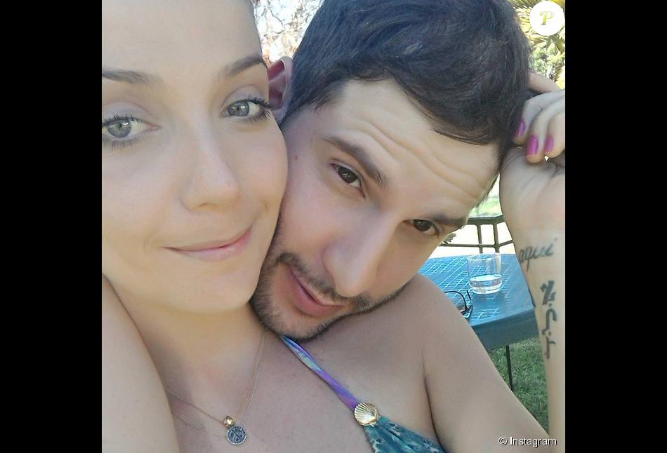Luiza Possi e o namorado, o diretor de novelas da TV Globo, Thiago Teitelroit