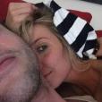 Luiza Possi já havia postado fotos com Thiago Teitelroit em seu perfil no Instagram, mas nunca revelou a identidade