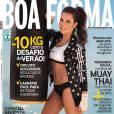 Fernanda Souza é a capa e o recheio da revista 'Boa Forma' de outubro