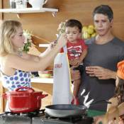 Marcio Garcia revela rotina saudável dos 4 filhos: 'Comem frutas e dormem bem'