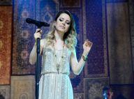 Sandy retorna aos palcos após nascimento do primeiro filho, Theo