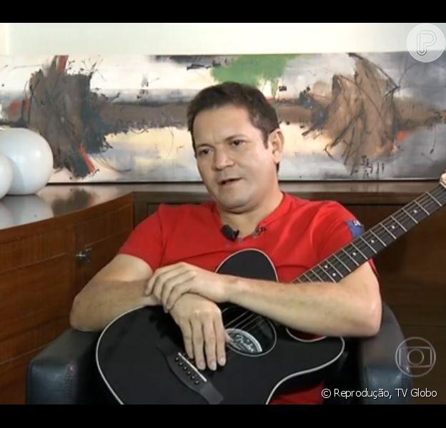 Chimbinha confessa que traiu Joelma em entrevista ao 'Fantástico', em 11 de outubro de 2015