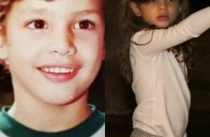 Cauã Reymond publica foto de quando criança e fãs apontam semelhança com Sofia