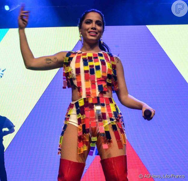 Anitta comandou seu segundo show deste Dia das Crianças, 12 de outubro de 2015, em São Paulo