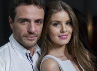 Camila Queiroz parabeniza Rodrigo Lombardi em aniversário: 'Meu parceiro'