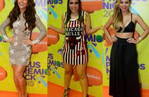 Anitta, Lexa, Maisa Silva e mais famosos nos Meus Prêmios Nick 2015. Veja looks!