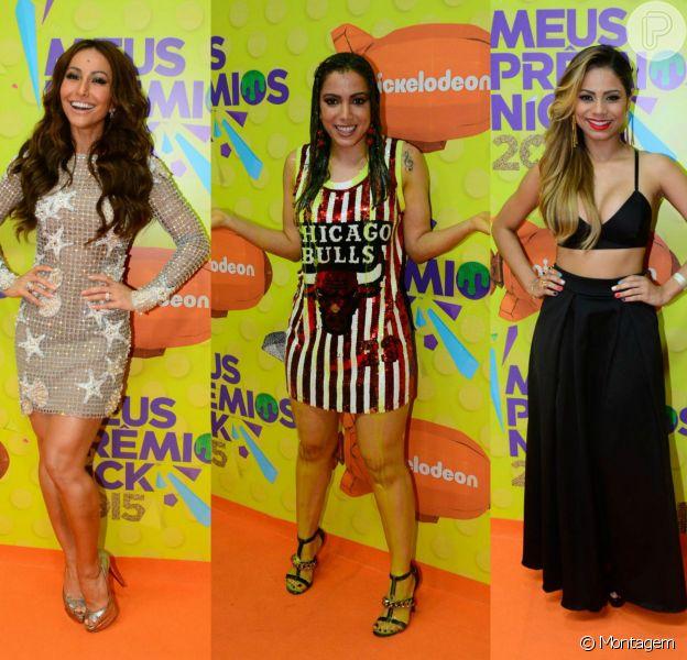 Sabrina Sato, Anitta, Lexa e mais famosos agitaram a noite dos Meus Prêmios Nick 2015!