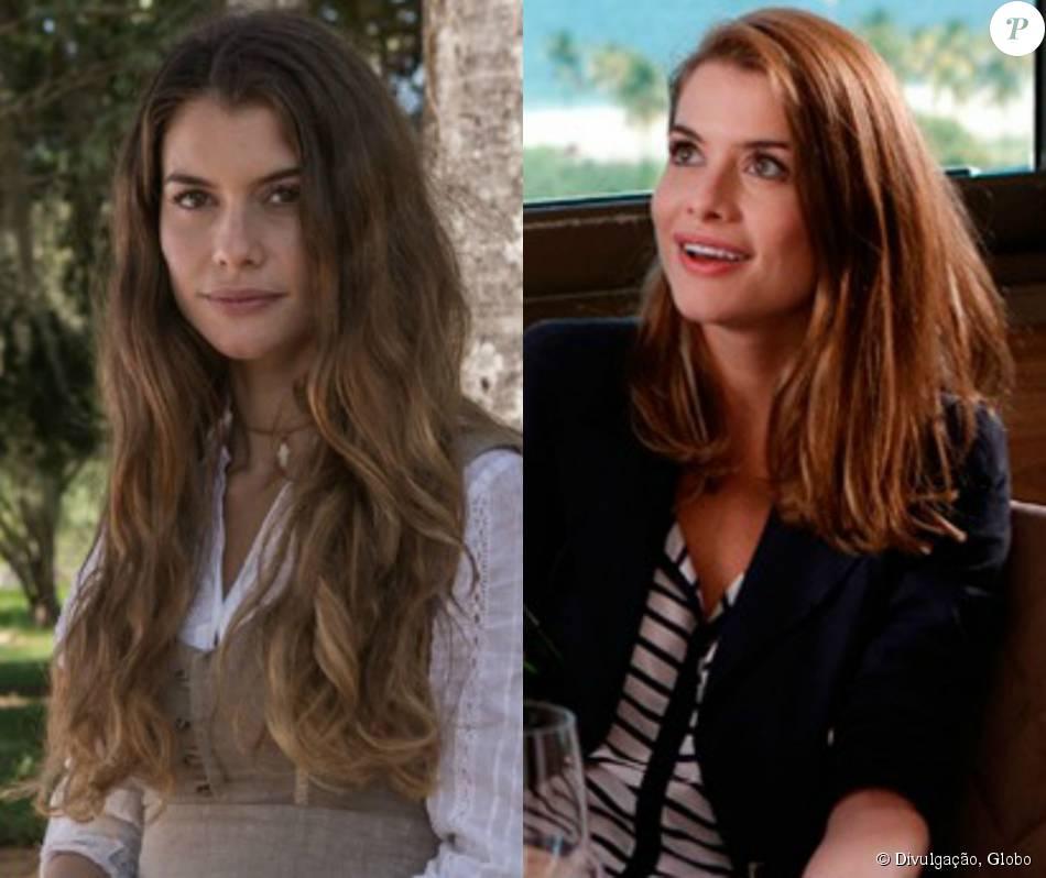 Alinne Moraes deixou para trás o cabelo longo de Lívia e adotou madeixas  mais curtas e 2dfad8897a