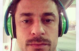 Fred muda o visual e deixa o bigode crescer em homenagem ao pai