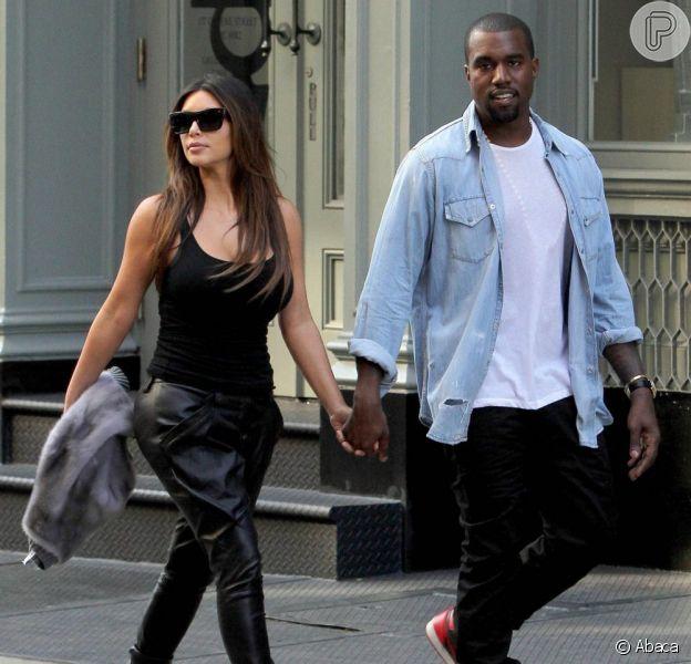 Kim Kardashian só quer sair de casa quando estiver em boa forma, em 14 de agosto de 2013