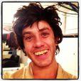 Nas redes sociais, o ator Leonardo Miggiorin publicou algumas fotos mostrando sua caracterização