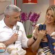 Ana Hickmann e Alexandre Correa contaram ao vivo no 'Programa da Tarde' o sexo do bebê. É um menino!