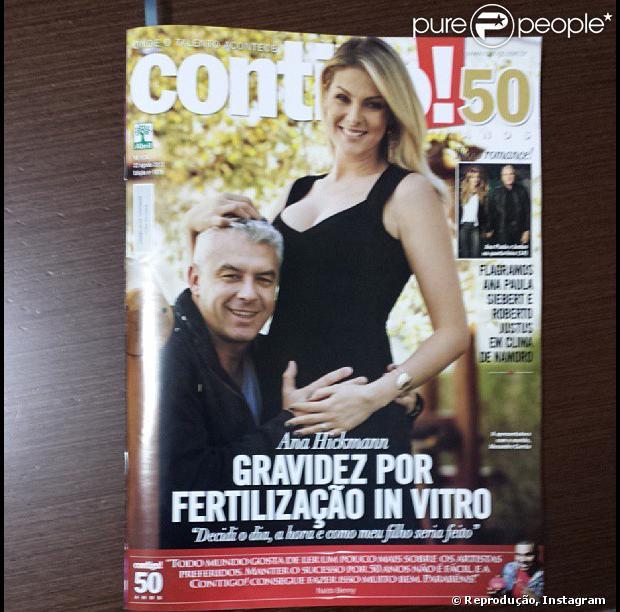 9ce5232329b50 Ana Hickmann e Alexandre Correa estão na capa da revista  Contigo!  desta  semana