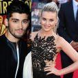 Zayn Malik está noivo de Perrie Edwards. Os cantores do do One Direction e da banda Little Mix foram revelados no programa 'X Factor UK'