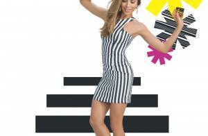 Grazi Massafera dá dicas de moda em editorial de verão: 'Listras estão em alta'