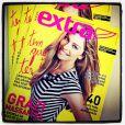 Grazi Massafera compartilhou em sua conta no Instagram uma foto da revista que está na capa