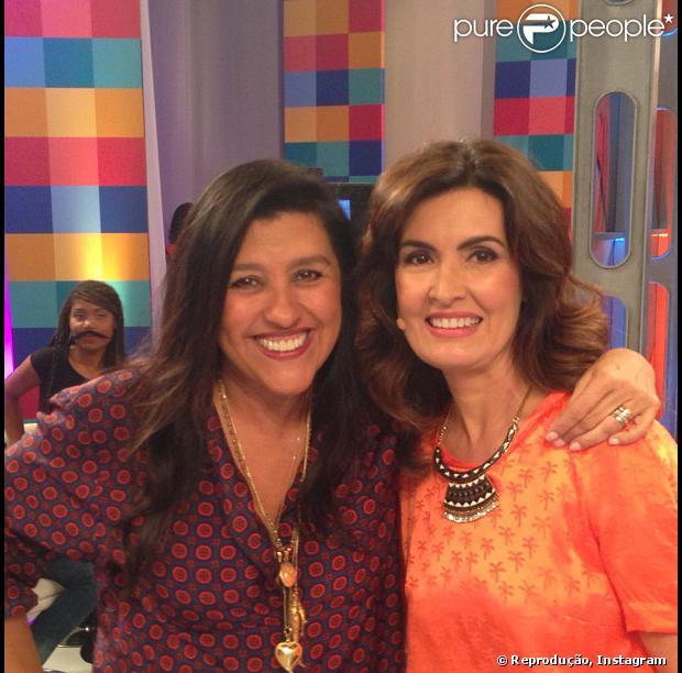 Regina Casé participou do 'Encontro com Fátima Bernardes' exibido nesta segunda-feira, 26 de agosto de 2013