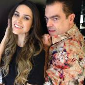 Fernanda Machado deixa o cabelo mais claro nas pontas: 'Amei demais'