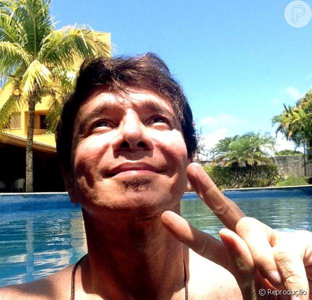 Netinho revela melhora em seu estado de saúde em publicação no Facebook, quarta-feira, 30 de dezembro de 2015