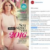 Ana Hickmann reclama do exagero com uso de Photoshop em revista: 'Não sou eu'