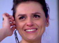 Monica Iozzi chora ao falar de sua saída do 'Vídeo Show': 'Só agradeço'