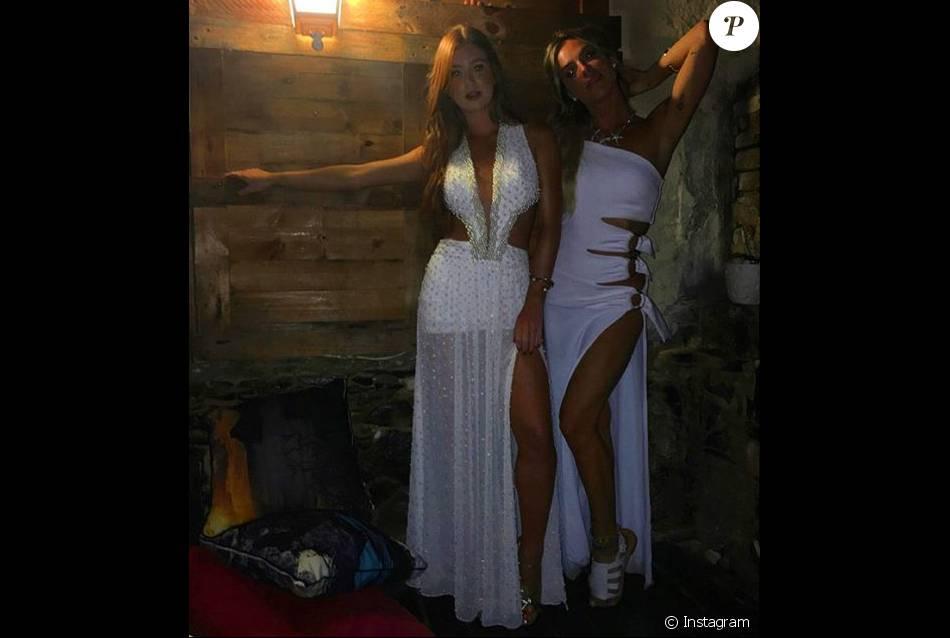 Marina Ruy Barbosa e Giovanna Ewbank curtiram festa em Fernando de Noronha com looks fatais! Fenda e decote, sem dispensar a cor branca na noite da virada