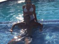 Thammy Miranda curte dia de piscina ao lado da namorada, Andressa Ferreira