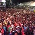 Ximbinha e Thábata Mendes deram o pontapé inicial na banda XCalypso com show na cidade paraense de Ananindeua