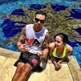 Recentemente, Anitta mostrou um treino aquático para fortalecer as coxas