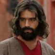 Guilherme Winter aparece caracterizado como Moisés para a segunda fase da novela 'Os Dez Mandamentos'