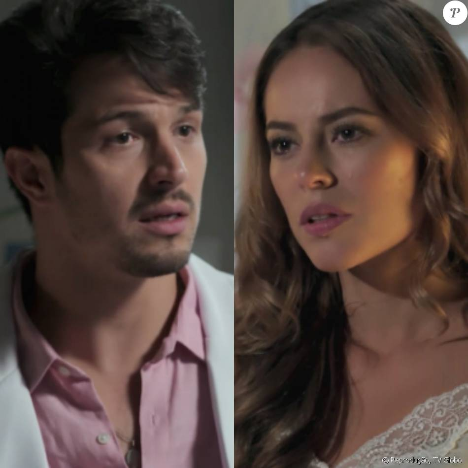 Melissa (Paolla Oliveira) recebe o teste de DNA que comprovará quem é o pai de Alex (Kadu Schons) e Roberto (Rômulo Estrela), no capítulo que vai ao ar dia 13 de janeiro de 2016, na novela 'Além do Tempo'
