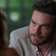 Pedro (Emílio Dantas) se enfurece com Melissa (Paolla Oliveira) ao ver seu plano contra Felipe (Rafael Cardoso) dar errado, na novela 'Além do Tempo'