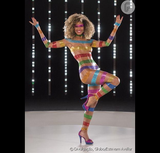 Erika Moura será Globeleza do Carnaval da Globo pelo segundo ano consecutivo