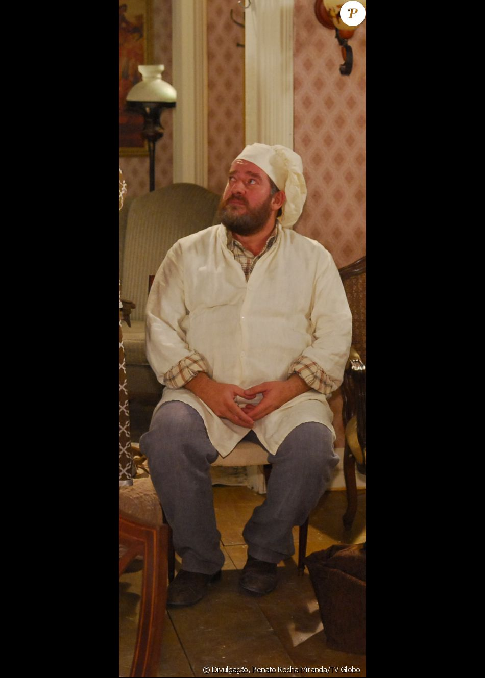 Carl Schumacher morreu enquanto dormia, aos 53 anos, em Contagem (Belo Horizonte), em 23 de outubro. O ator participou de novelas como 'Eterna Magia' (2007, na foto) e 'A Favorita' (2008)