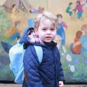George, filho de Kate Middleton e Príncipe William, vai à escola pela 1ª vez