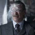 Cena do copo quebrando no rosto do ator repercutiu nas redes sociais