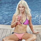 Flávia Alessandra comenta boa forma e dá dica de beleza: 'Passo mel no corpo'
