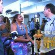 Gaby Amarantos precisa melhorar o preparo físico e reduzir o nível de gordura no corpo