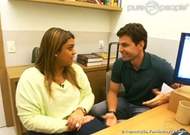 Preta Gil faz exames para o 'Medida Certa' e fica sabendo que está com o colesterol alto. O quadro iniciou no 'Fantástico', em 1 de setembro de 2013