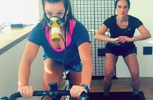 Fernanda Souza explica máscara no rosto ao malhar: 'Recuperar o que estragou'