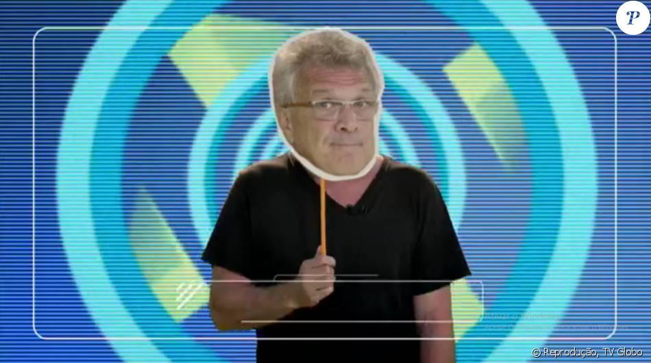 Pedro Bial já aparece nas chamadas do 'Big Brother Brasil 16', que estreia na próxima terça-feira, 19 de janeiro de 2016