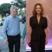 Patricia Pillar e Carlos Schroeder, diretor da Globo, estão juntos, diz site