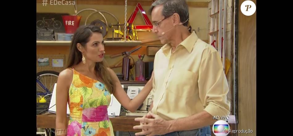 Patrícia Poeta aparece bem mais magra no programa 'É de Casa' e fãs comentam: 'Se está assim na televisão que engorda, imagine pessoalmente'
